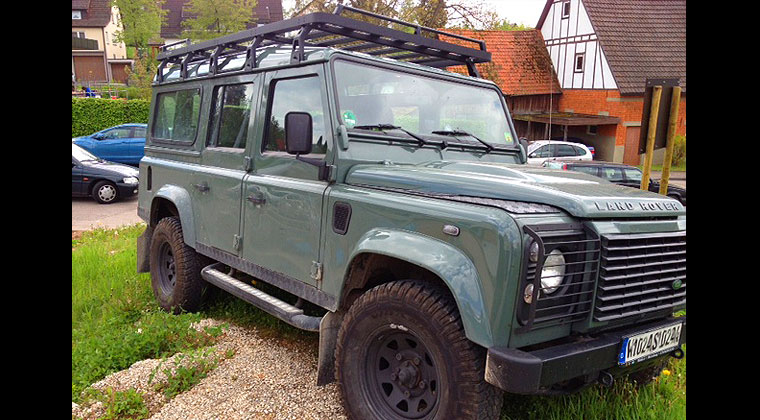 bagażnik dachowy Land Rover Defender Discovery Mercedes G